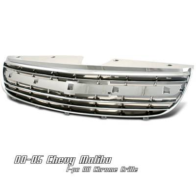 Grilles - Custom Fit Grilles - OptionRacing - Chevrolet Malibu Option Racing OEM Grille - 65-15113