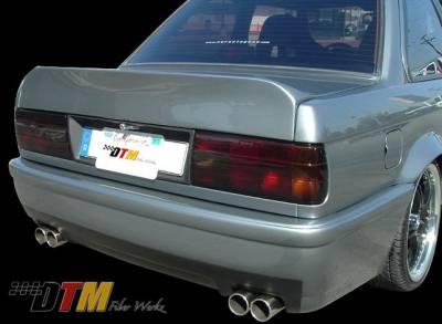 3 Series 4Dr - Rear Bumper - DTM Fiberwerkz - BMW 3 Series DTM Fiberwerkz CSL E46 Style Rear Bumper - E30 CSL E46