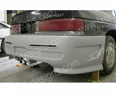 Corsica - Rear Bumper - FX Designs - Chevrolet Corsica FX Design Xtreme Style Rear Bumper Cover - FX-1046