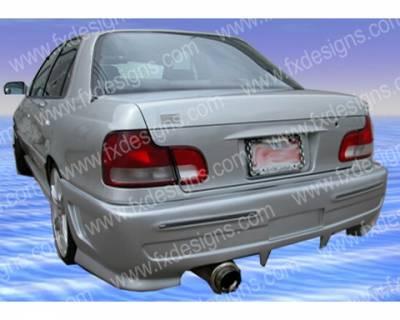 FX Design - Hyundai Elantra FX Design Rear Bumper Cover - FX-1061