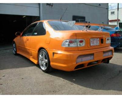 FX Design - Honda Civic FX Design Rear Bumper Cover - FX-706