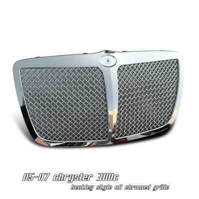 Grilles - Custom Fit Grilles - OptionRacing - Chrysler 300 Option Racing Bentley Grille - 65-16135