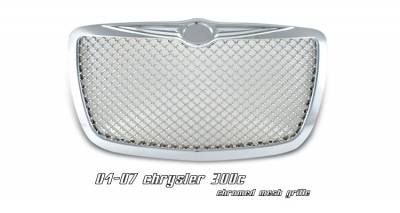 Grilles - Custom Fit Grilles - OptionRacing - Chrysler 300 Option Racing Diamond Grille - 65-16136