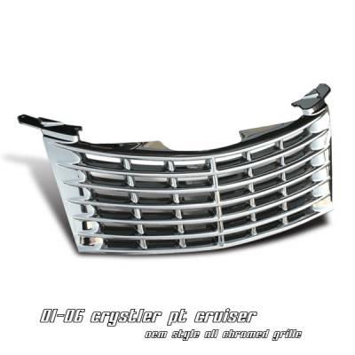 Grilles - Custom Fit Grilles - OptionRacing - Chrysler PT Cruiser Option Racing OEM Grille - 65-16142