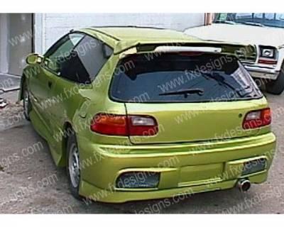 FX Design - Honda Civic FX Design Rear Bumper Cover - FX-847