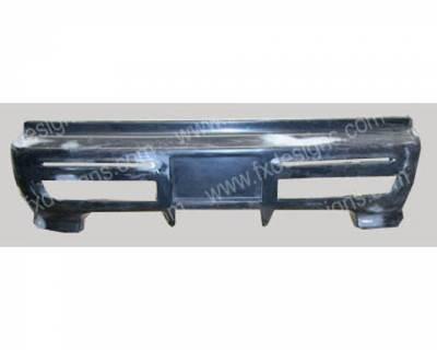 CRX - Rear Bumper - FX Designs - Honda CRX FX Design Xtreme Style Rear Bumper Cover - FX-966