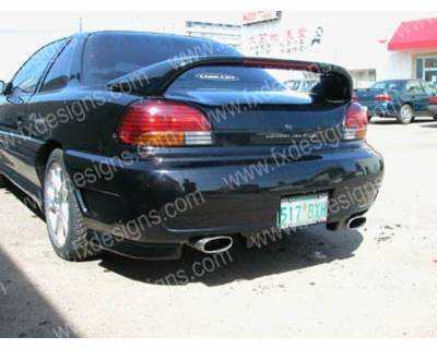 Grand Am - Rear Bumper - FX Designs - Pontiac Grand Am FX Design VSX Style Rear Bumper Cover - FX-996