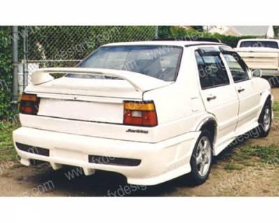 Jetta - Rear Bumper - FX Designs - Volkswagen Jetta FX Design Rear Bumper Cover - FX-LK7175