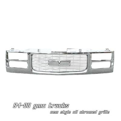 Grilles - Custom Fit Grilles - OptionRacing - GMC CK Truck Option Racing OEM Grille - 65-19191