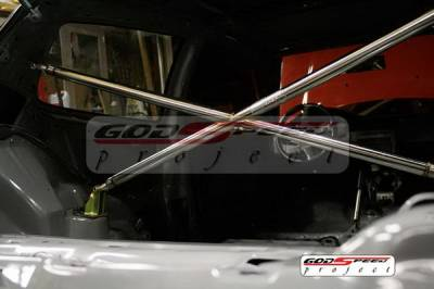 SUV Truck Accessories - Roll Bar Accessories - Godspeed - Honda Civic Godspeed Cross Bar - XB-002