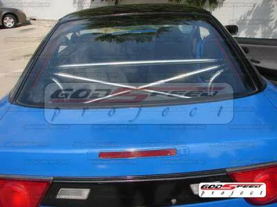 SUV Truck Accessories - Roll Bar Accessories - Godspeed - Nissan 240SX Godspeed Cross Bar - XB-004
