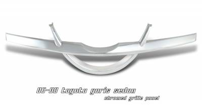 Grilles - Custom Fit Grilles - OptionRacing - Toyota Yaris Option Racing Grille Panel - 65-44219