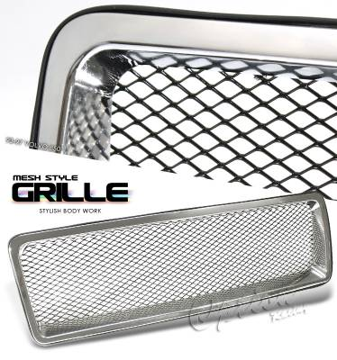 Grilles - Custom Fit Grilles - OptionRacing - Volvo 850 Option Racing Mesh Grille - 65-46227