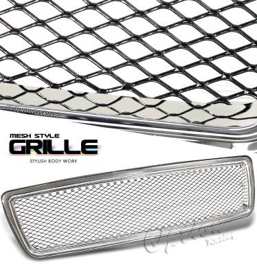 Grilles - Custom Fit Grilles - OptionRacing - Volvo S40 Option Racing Mesh Grille - 65-46230