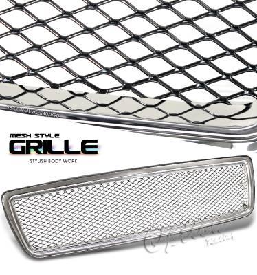 Grilles - Custom Fit Grilles - OptionRacing - Volvo V70 Option Racing Mesh Grille - 65-46230