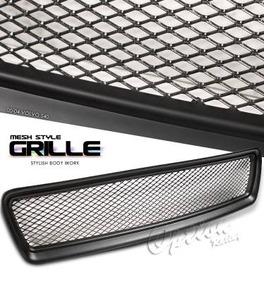 Grilles - Custom Fit Grilles - OptionRacing - Volvo S40 Option Racing Mesh Grille - 65-46231