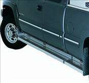 Deflecta-Shield - Chevrolet Silverado Deflecta-Shield Challenger Diamond Brite Running Board - 0848-07