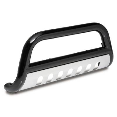 Grilles - Grille Guard - Omix - Outland Bull Bar With Skid Plate - 3 inch - Black - 82001-21
