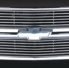Grilles - Custom Fit Grilles - Pilot - Chevrolet CK Truck Pilot Cut-Away Billet Grille - Set - BG-102