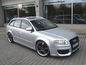 Grilles - Custom Fit Grilles - Oettinger - Audi A4 B7 Front Grille