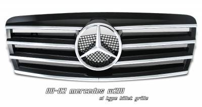 Grilles - Custom Fit Grilles - OptionRacing - Mercedes-Benz E Class Option Racing CL Type Sport Grille