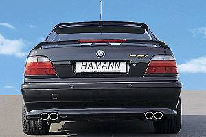 7 Series - Rear Add On - Hamann - Hamann Rear Apron