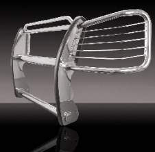 Grilles - Grille Guard - Pilot - Chevrolet Suburban Pilot Stainless Steel Brush Guard - 1PC - NG-102