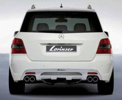 Lorinser - Mercedes-Benz GLK Class Lorinser Rear Bumper Spoiler - 488 1204 20 - Image 2