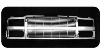 Grilles - Custom Fit Grilles - Pilot - Chevrolet CK Truck Pilot Performance Grille - Billet Style - 1PC - PFG-1101