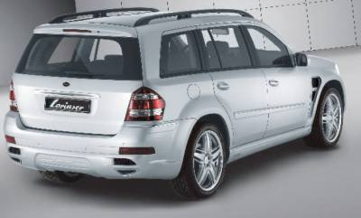 GL Class - Rear Bumper - Lorinser - Mercedes-Benz GL Class Lorinser Rear Bumper Spoiler - 488 0164 60