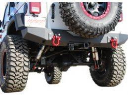 Wrangler - Rear Bumper - MBRP - Jeep Wrangler MBRP Rear Bumper - 131177