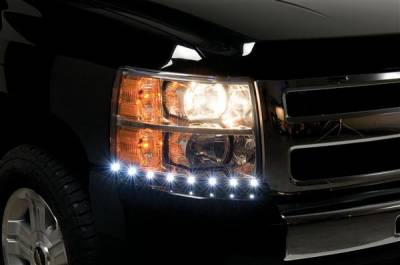 Headlights & Tail Lights - Corner Lights - Putco - Chevrolet Silverado Putco LED DayLiner - G2 - 270100