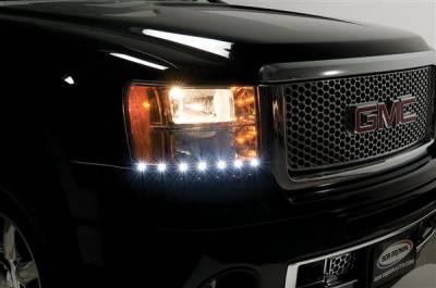 Headlights & Tail Lights - Corner Lights - Putco - GMC Sierra Putco LED DayLiner - G2 - 270110