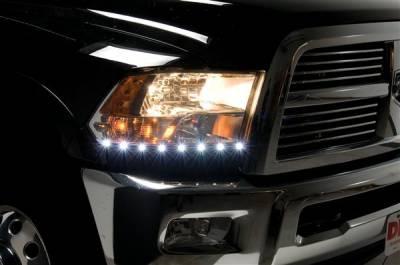Headlights & Tail Lights - Corner Lights - Putco - Dodge Ram Putco LED DayLiner - G2 - 270120