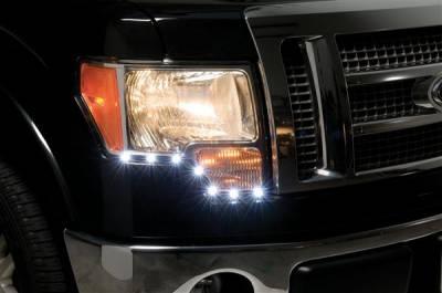 Headlights & Tail Lights - Corner Lights - Putco - Ford F150 Putco LED DayLiner - G2 - 270140