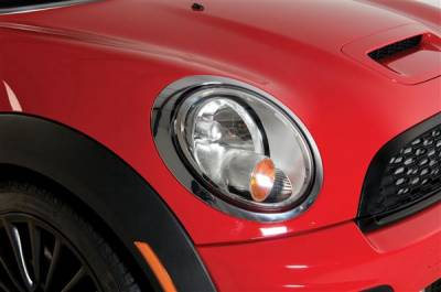 Headlights & Tail Lights - Headlight Covers - Putco - Mini Cooper Putco Headlight Covers - 400063