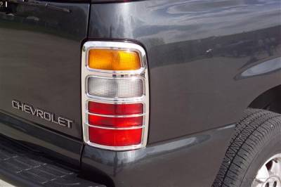 Headlights & Tail Lights - Tail Light Covers - Putco - Chevrolet Tahoe Putco Taillight Covers - 400803