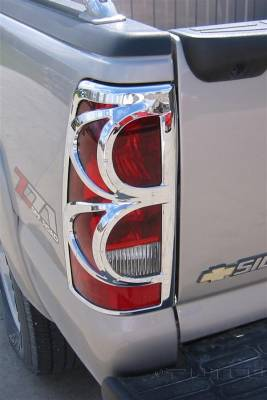 Headlights & Tail Lights - Tail Light Covers - Putco - Chevrolet Silverado Putco Taillight Covers - 400807