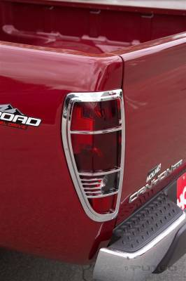 Headlights & Tail Lights - Tail Light Covers - Putco - GMC Canyon Putco Taillight Covers - 400808