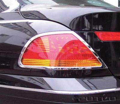Headlights & Tail Lights - Tail Light Covers - Putco - BMW 7 Series Putco Taillight Covers - 400821