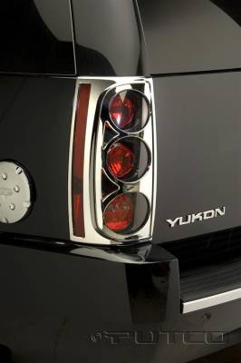 Headlights & Tail Lights - Tail Light Covers - Putco - GMC Yukon Putco Taillight Covers - 400828
