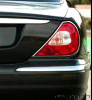 Headlights & Tail Lights - Tail Light Covers - Putco - Jaguar XJ8 Putco Taillight Covers - 400830