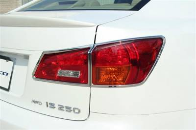 Headlights & Tail Lights - Tail Light Covers - Putco - Lexus IS Putco Taillight Covers - 400832