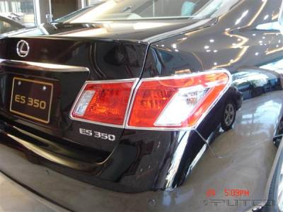 Headlights & Tail Lights - Tail Light Covers - Putco - Lexus ES Putco Taillight Covers - 400833