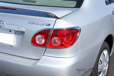 Headlights & Tail Lights - Tail Light Covers - Putco - Toyota Corolla Putco Taillight Covers - 400842