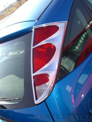 Headlights & Tail Lights - Tail Light Covers - Putco - Ford Focus Wagon Putco Taillight Covers - 400848