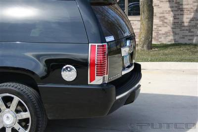 Headlights & Tail Lights - Tail Light Covers - Putco - Cadillac Escalade Putco Taillight Covers - 400850