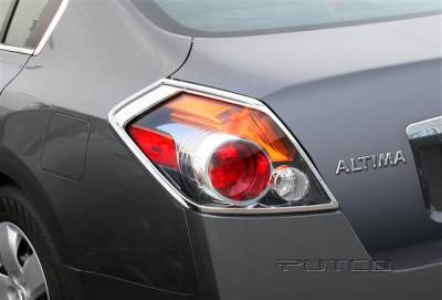 Headlights & Tail Lights - Tail Light Covers - Putco - Nissan Altima Putco Taillight Covers - 400863