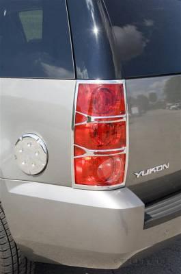 Headlights & Tail Lights - Tail Light Covers - Putco - GMC Yukon Putco Taillight Covers - 400866