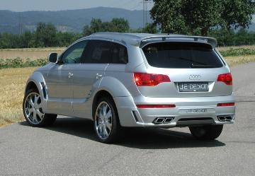 JE Design - Q7 Rear Valence